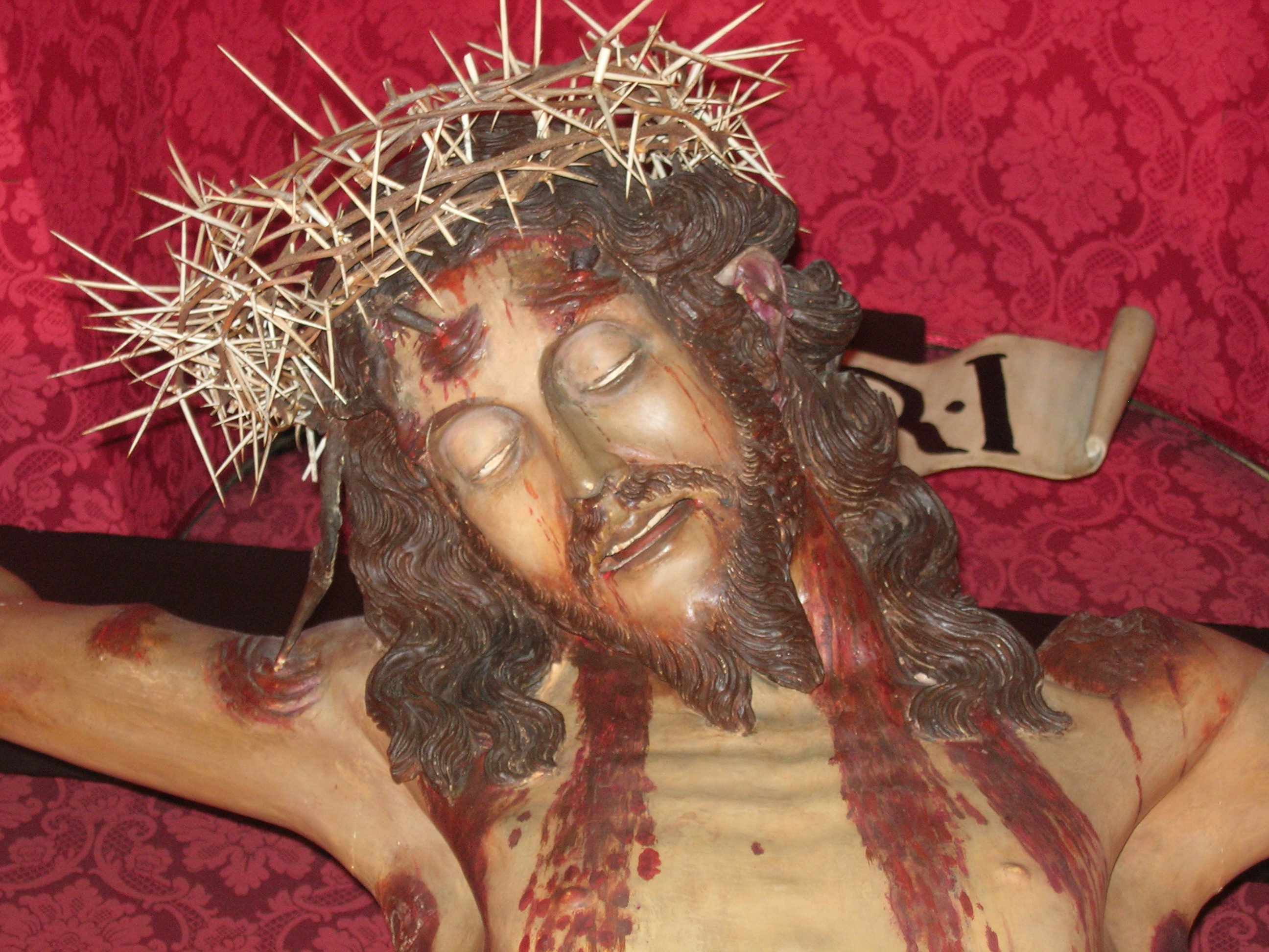 The Miraculous Crucifix of Ferla, Sicily