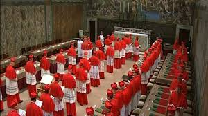 The College of Cardinal-Electors convenes for the 2014 Conclave