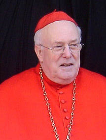 Godfried Cardinal Danneels, retired Archbishop of Brussels, Belgium & Cardinal-Priest of Sant'Anastasia al Palatino