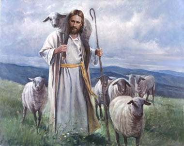 Jesus is the ever faithful, Good Shepherd, who uses true mercy and true justice for one and all.