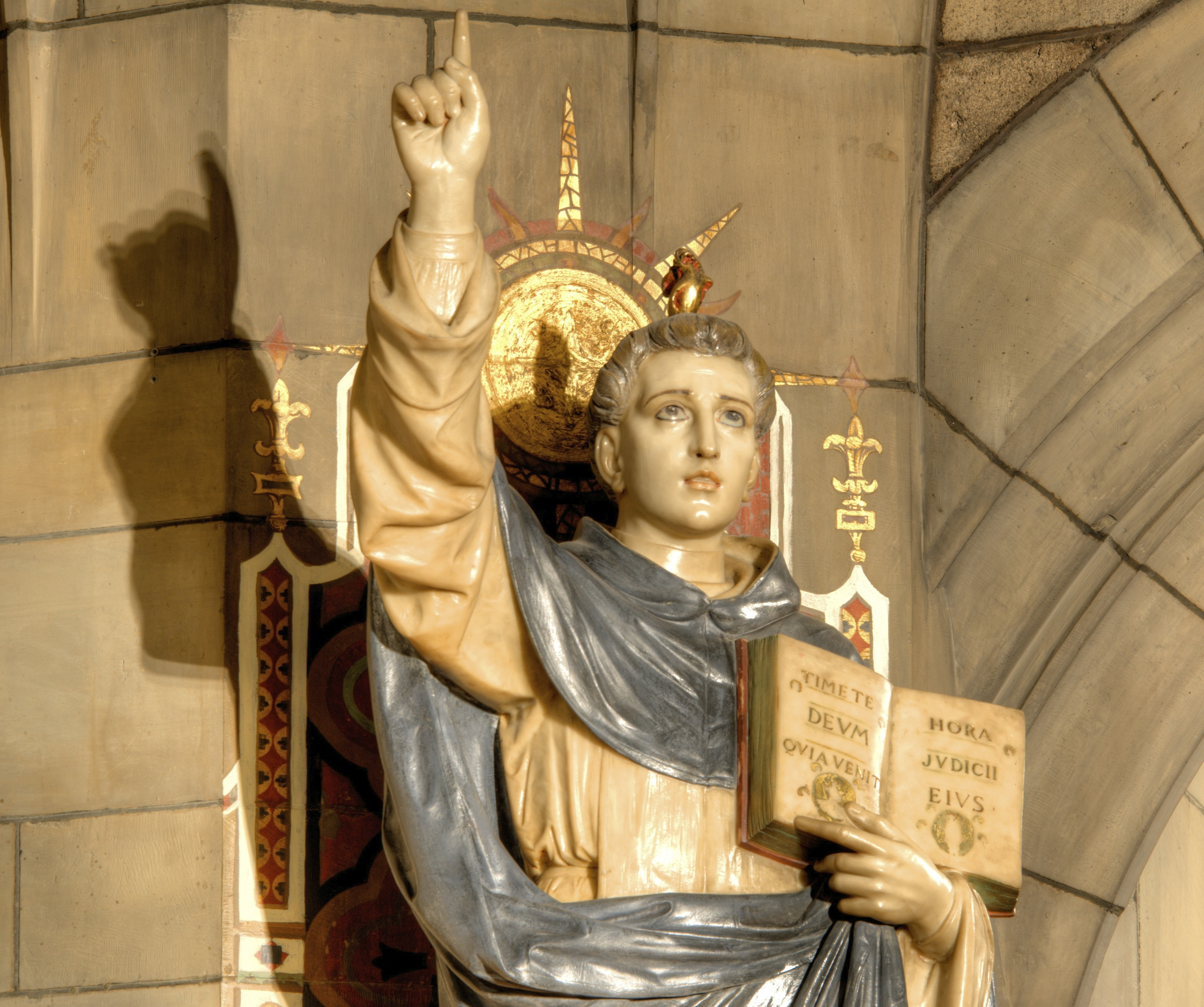 St. Vincent Ferrer preached to the Waldensians to convert them to the faith.