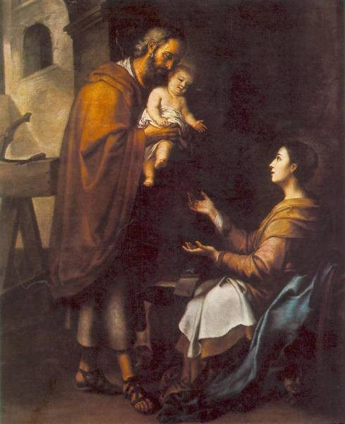 murillo-the-holy-family-c1660